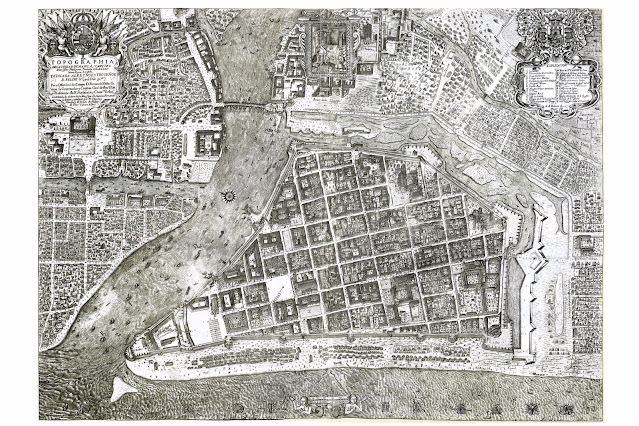 Topographical Map of Manila 1717