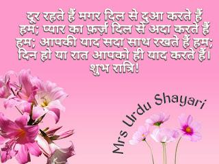 Hindi Shayari, Good night Shayari,