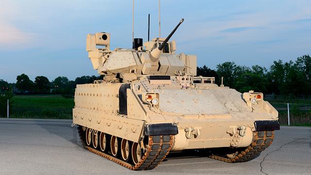 """El Ejército de EE.UU. recibe los primeros blindados Bradley """"inteligentes"""""""