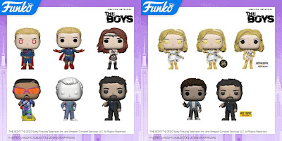 The Boys Pop! Television Vinyl Figures by Funko