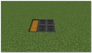 Minecraft 高速トロッコ輸送 アイテム荷降ろし駅 作り方①