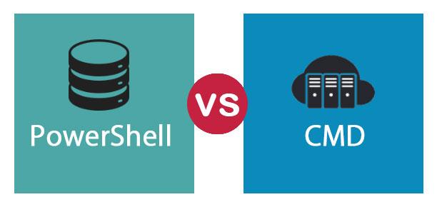 الفرق بين Cmd و powershell في الويندوز