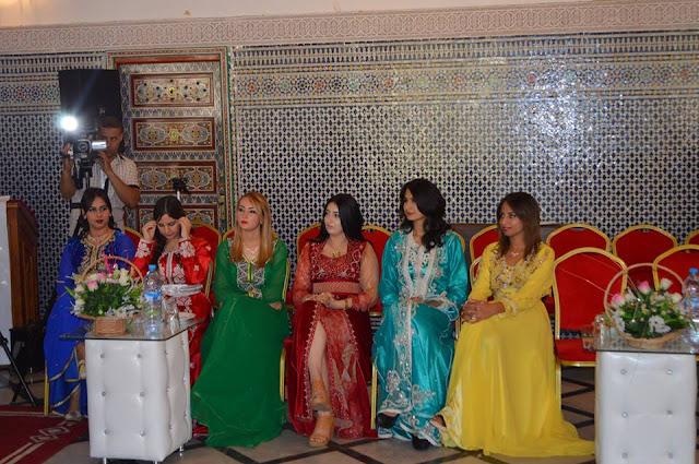 Concurso de belleza en el Festival de la Cereza en Sefrou (Marruecos)