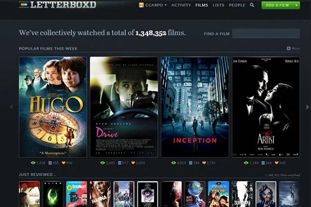 εφαρμογή για να σημειώνω ταινίες βαθμολογίες και λίστες