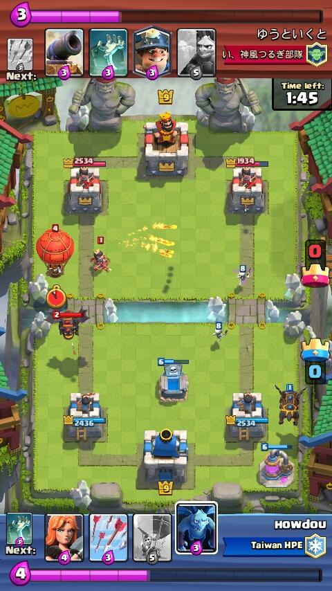 Cara Mengalahkan Lava Hound di Clash Royale