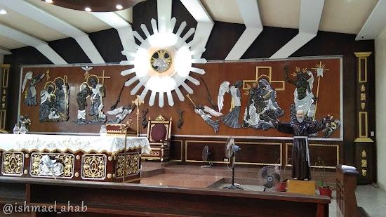 Side Altar of St. Francis Church in Ortigas, Mandaluyong