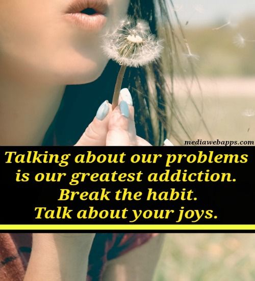 Talking About Our Problems is Our - Quotes Top 10 Updated