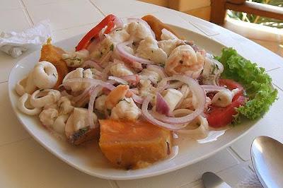 Cuál es la gastronomía típica del Cantón Santa Rosa