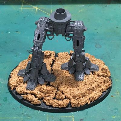 Warlord-Sinister Psi-Titan for Adeptus Mechanicus WIP