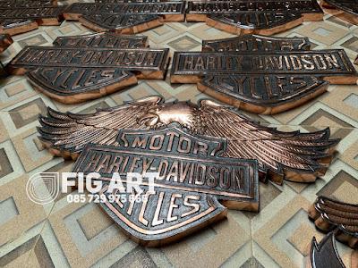 Logo Harley Davidson Burung