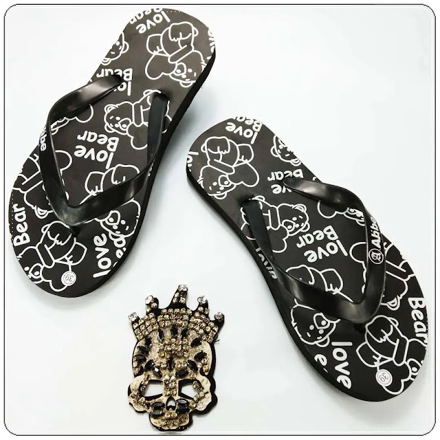 PROMO Sandal Termurah - Sandal Love Bear Spon AB
