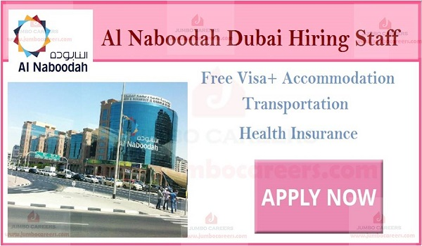Al Naboodah Group Jobs Dubai January 2019 - Latest Walk In Interview