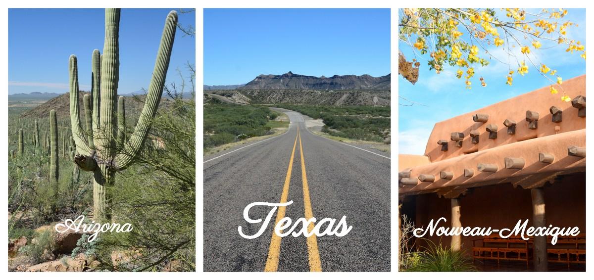 Road trip ouest américain