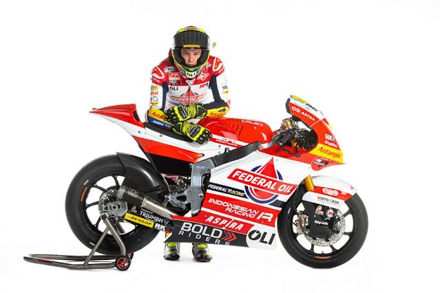 Tim Gresini Racing Resmi Moto2 2021 Diperkenalkan, Federal Oil Masih Jadi Sponsor Utama !!!