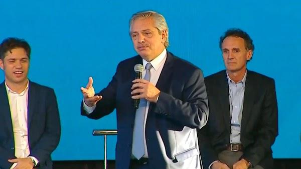 Alberto Fernández lanzó el programa de obras públicas Argentina Hace