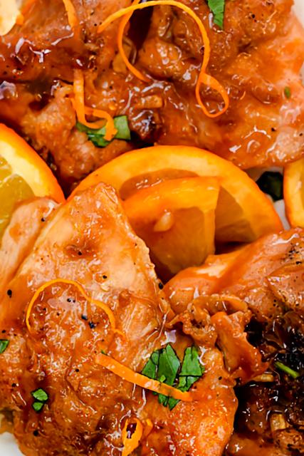 Asian Glazed Orange Chicken Recipe