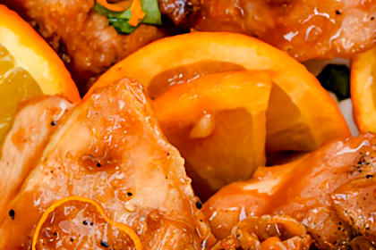 Asian Glazed Orange Chicken Recipe