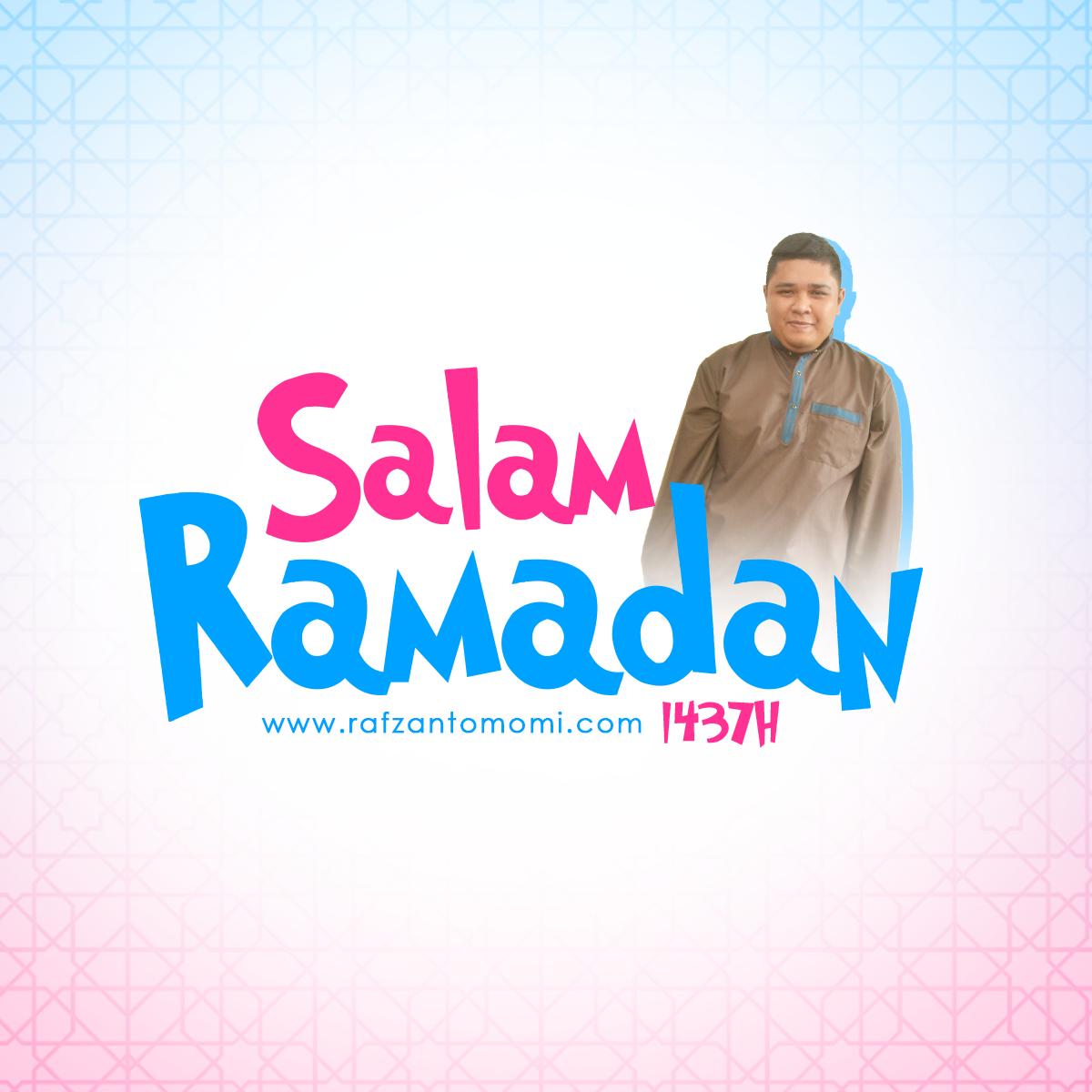 Poster Salam Ramadan 1437H