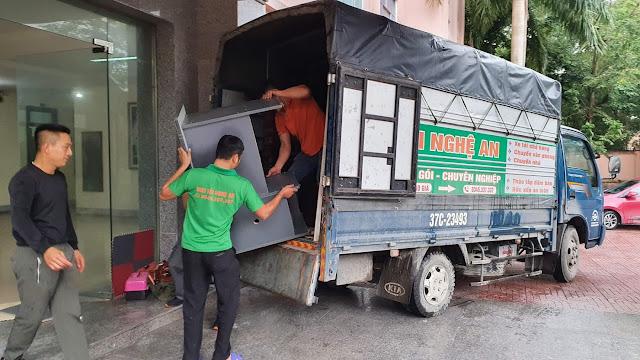 cho thuê xe tải tp vinh