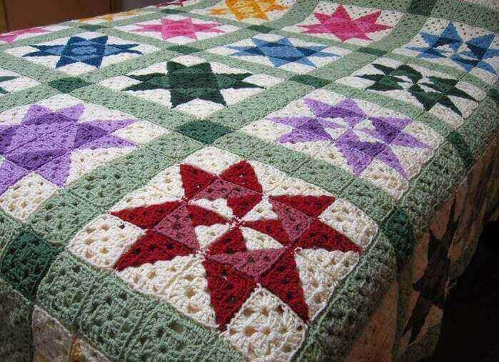 Crochet Quilt Blanket Easy Afghan Pattern