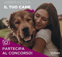 Logo Concorso Virbac '' Abbraccia il tuo cane'': vinci gratis kit di prodotti
