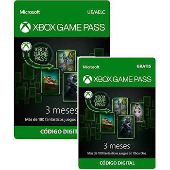 Xbox Game Pass 3 meses + 3 meses gratis