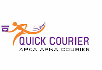 Quick Courier Company Logo