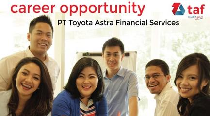 Lowongan Kerja Toyota Astra Finance Service