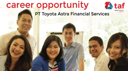 Lowongan Kerja Toyota Astra Finance 2018 taf2