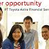Lowongan Kerja Managemen Trainee PT Toyota Astra Financial Services