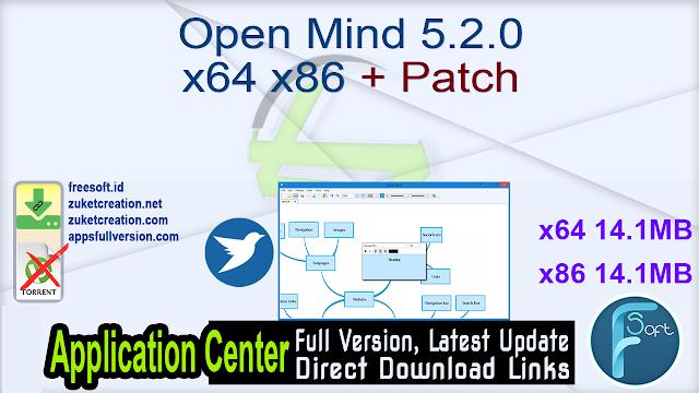 Open Mind 5.2.0 x64 x86 + Patch