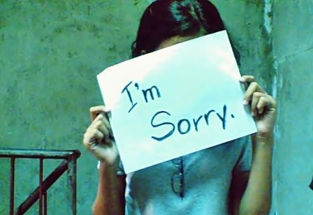 sorry quotes in hindi   Sorry status in hindi   sorry message