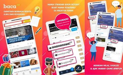 Baca Plus - Aplikasi Penghasil Pulsa Gratis