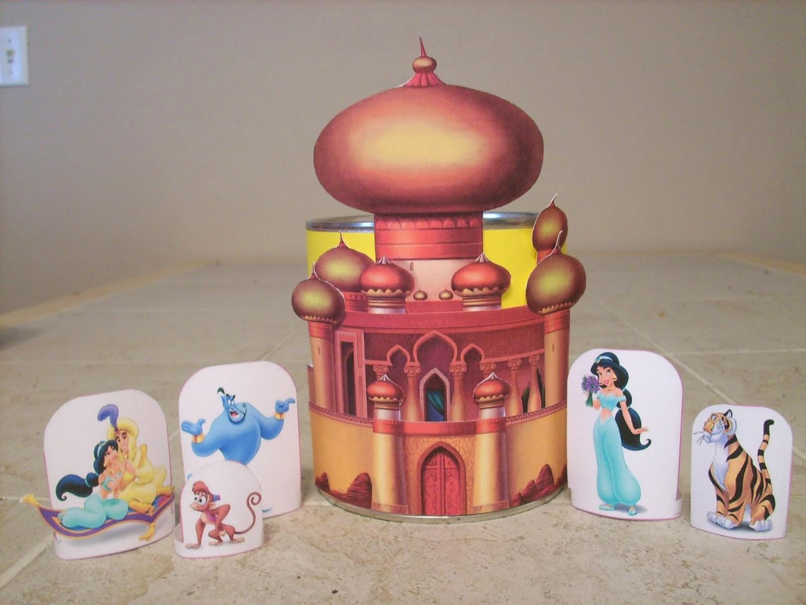 Free Printable Jasmine´s Castle.