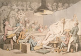 Life Class by Thomas Rowlandson - Genre Drawings from Hermitage Museum