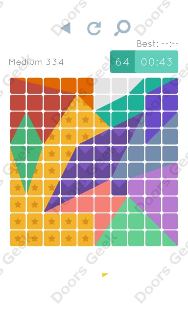 Cheats, Walkthrough for Blocks and Shapes Medium Level 334