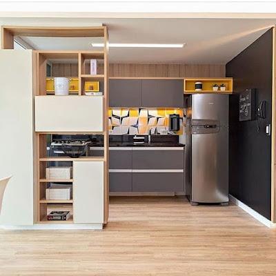 contoh interior dapur elegan