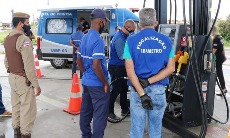 Operação Posto Legal identifica bomba que fornecia combustível a menos para o consumidor