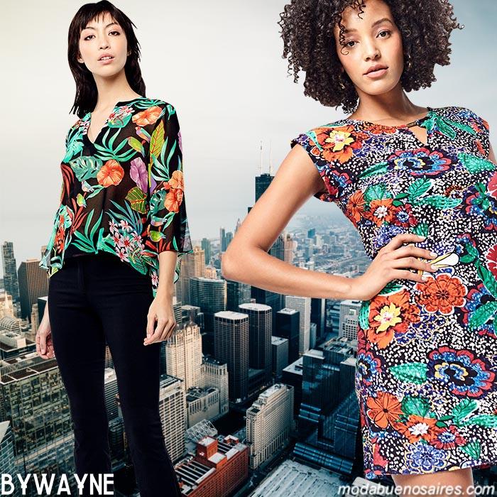 Blusas, pantalones oxford y vestidos cortos primavera verano 2020. Moda urbana 2020 mujer.