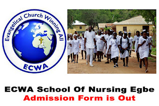 ECWA School of Nursing Egbe Admission Form 2020/2021
