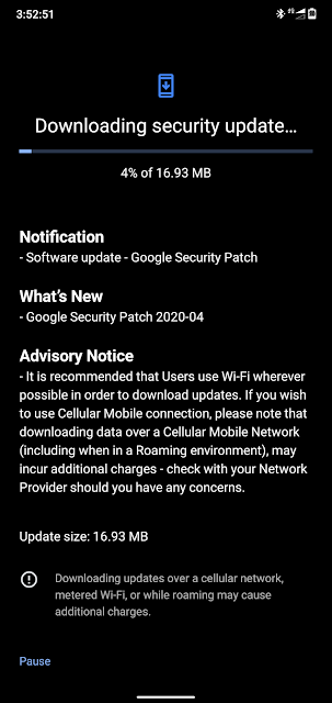 Nokia 6.1 Plus receiving April 2020 Android Security patch
