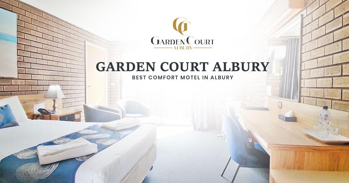 garden court motel in Albury