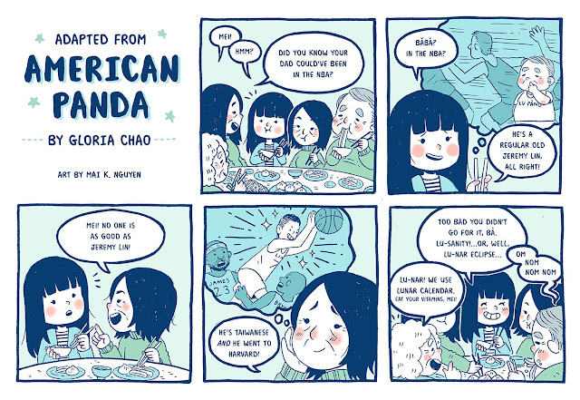 American Panda comic. Meet Gloria Chao in this Debut Author Spotlight