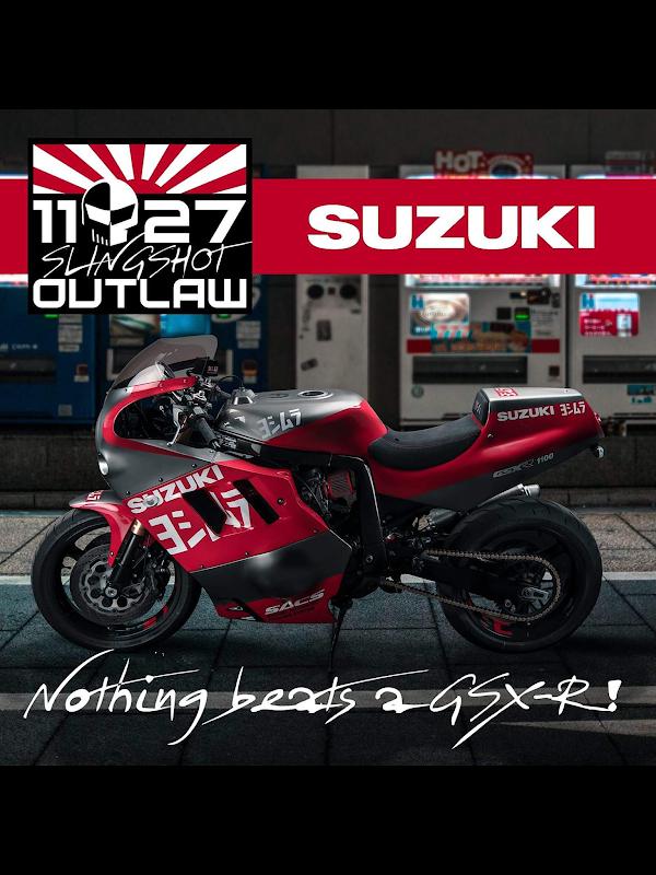 Outlaw Suzuki Slingshot 1127