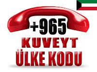 +965 Kuveyt ülke telefon kodu