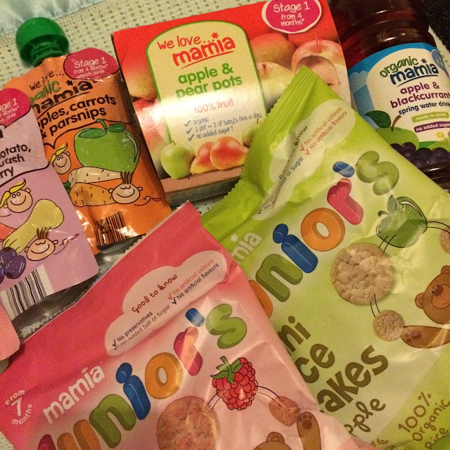 Weaning on the go #MamiaDaysOut Aldi baby food