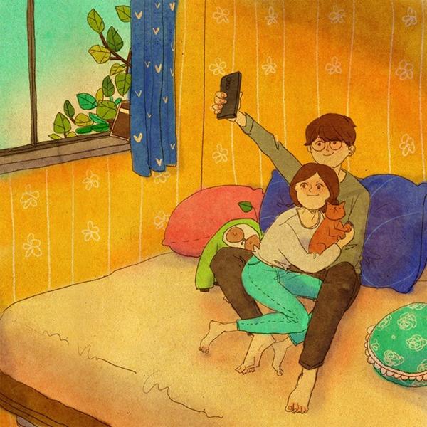 Những điều giản dị làm nên hạnh phúc vợ chồng-8