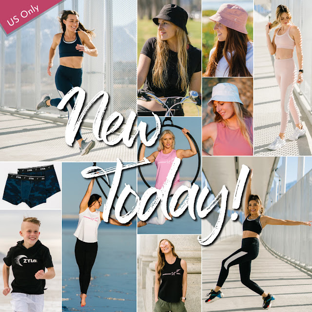 zyia active new release wednesday, zyia activewear, shop zyia active, zyia active rep, , zyia all star bra, zyia bucket hat, zyia bra, zyia leggings, zyia tank