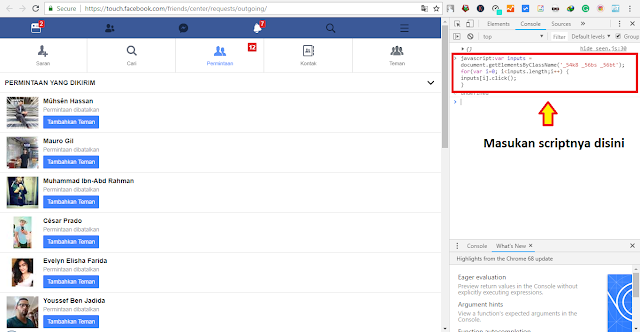Cara Membatalkan Semua Permintaan Pertemanan di Facebook