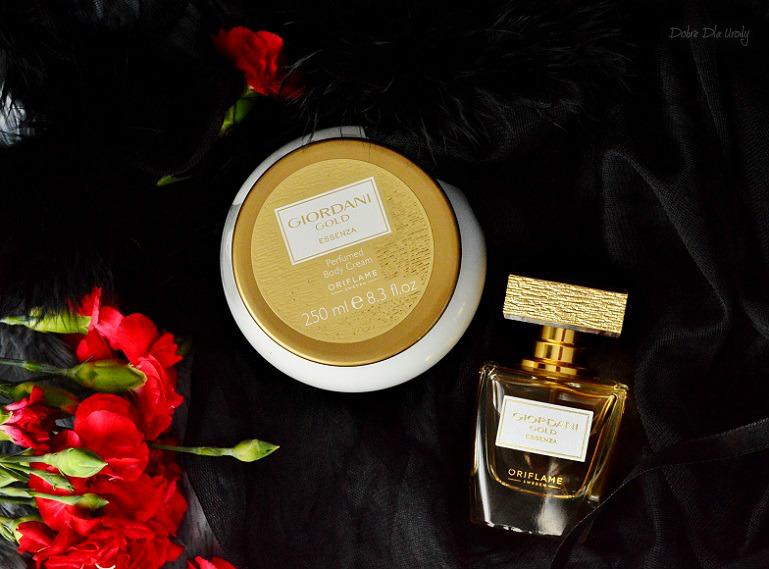Oriflame Giordani Gold Essenza Perfumy oraz Perfumowany krem do ciała  recenzja
